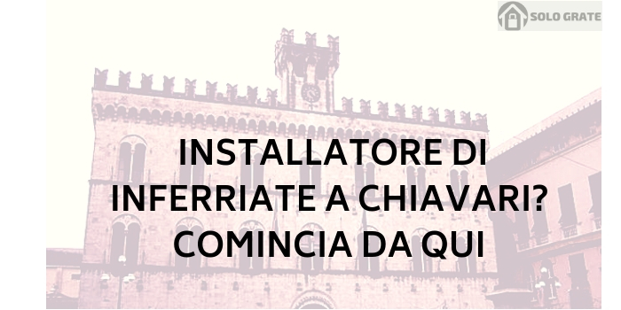 installatore inferriate chiavari