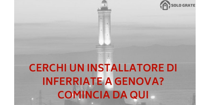 installatori inferriate genova